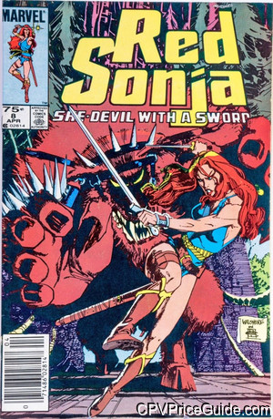 red sonja 8 cpv canadian price variant image