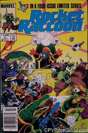 Rocket Raccoon #3 $1.00 Canadian Price Variant Comic Book Picture