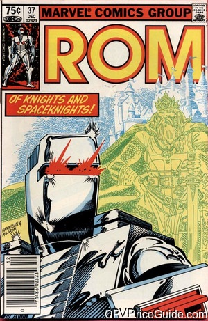 Rom Spaceknight #37 75¢ Canadian Price Variant Comic Book Picture