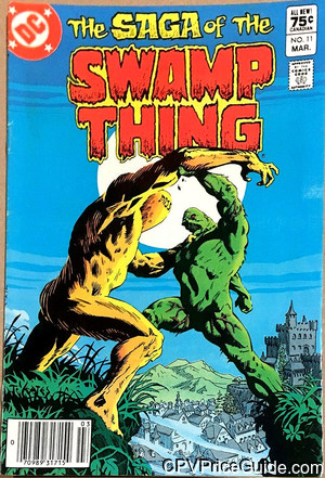saga of the swamp thing 11 cpv canadian price variant image