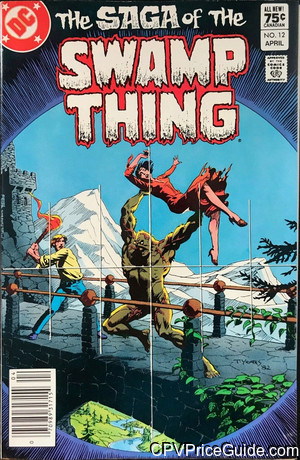 saga of the swamp thing 12 cpv canadian price variant image