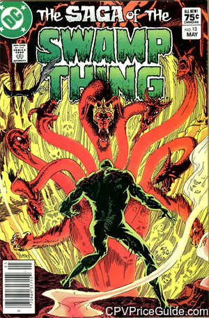 saga of the swamp thing 13 cpv canadian price variant image