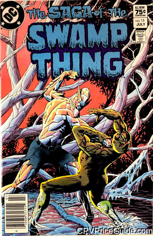 saga of the swamp thing 15 cpv canadian price variant image