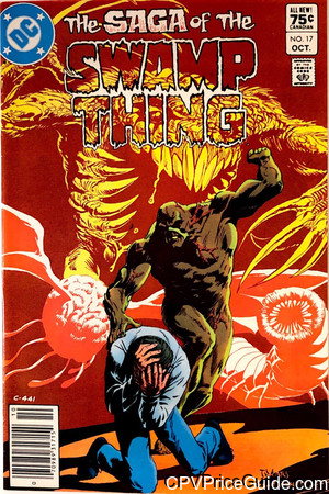 saga of the swamp thing 17 cpv canadian price variant image