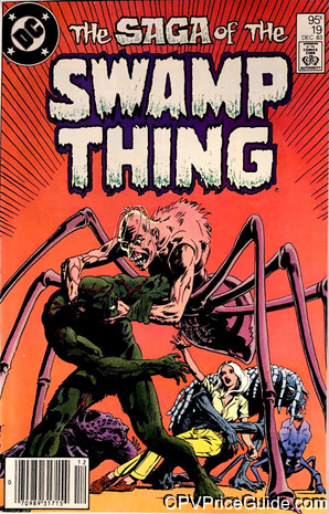 saga of the swamp thing 19 cpv canadian price variant image