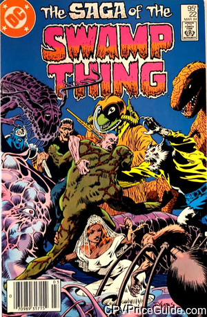 saga of the swamp thing 22 cpv canadian price variant image