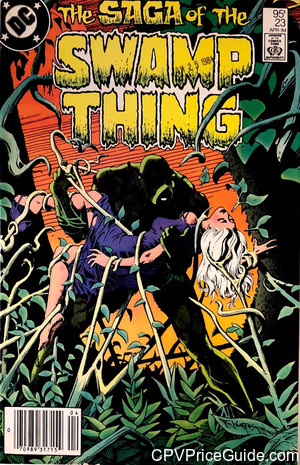 saga of the swamp thing 23 cpv canadian price variant image