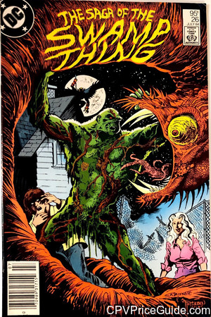 Saga of the Swamp Thing #26 95¢ Canadian Price Variant Comic Book Picture