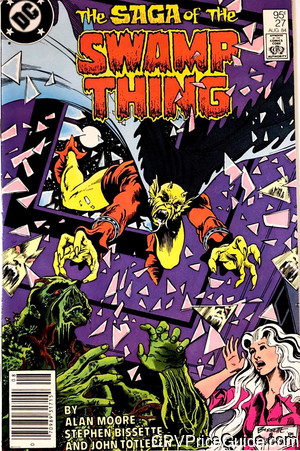 saga of the swamp thing 27 cpv canadian price variant image