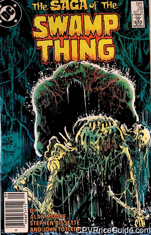 saga of the swamp thing 28 cpv canadian price variant image