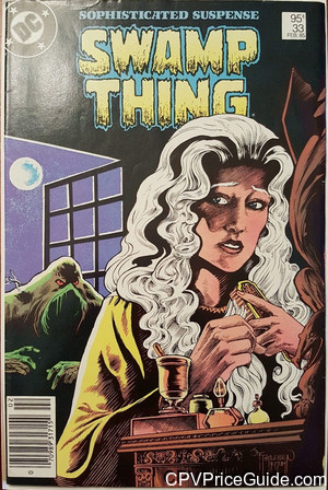 Saga of the Swamp Thing #33 95¢ Canadian Price Variant Comic Book Picture