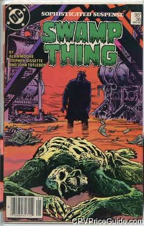 saga of the swamp thing 36 cpv canadian price variant image