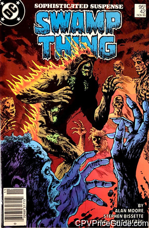 saga of the swamp thing 42 cpv canadian price variant image