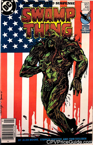 saga of the swamp thing 44 cpv canadian price variant image