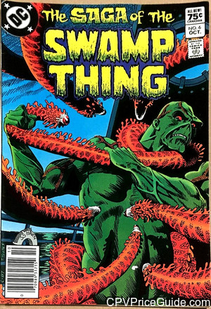 saga of the swamp thing 6 cpv canadian price variant image