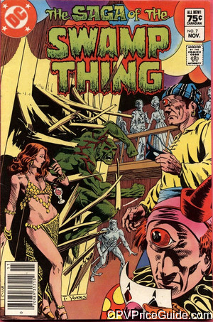 saga of the swamp thing 7 cpv canadian price variant image
