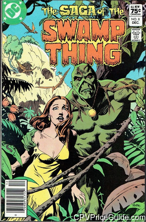 saga of the swamp thing 8 cpv canadian price variant image
