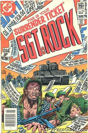 sgt rock 370 cpv canadian price variant image