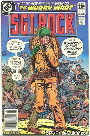 sgt rock 377 cpv canadian price variant image