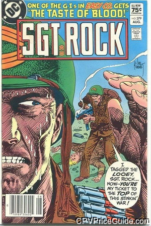 sgt rock 379 cpv canadian price variant image