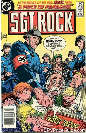 sgt rock 383 cpv canadian price variant image