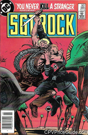 sgt rock 385 cpv canadian price variant image