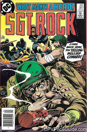 sgt rock 387 cpv canadian price variant image