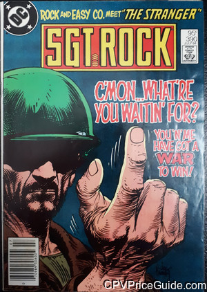 sgt rock 390 cpv canadian price variant image