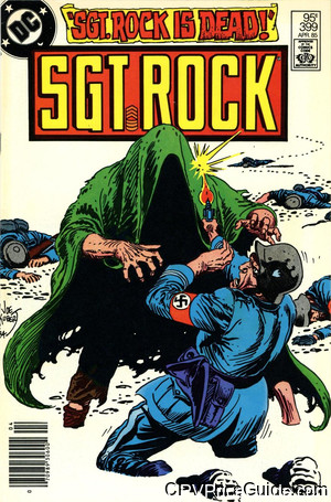 Sgt. Rock #399 95¢ Canadian Price Variant Comic Book Picture
