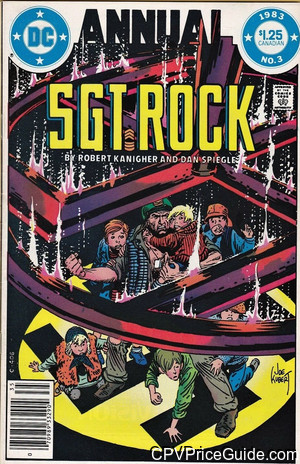 sgt rock annual 3 cpv canadian price variant image