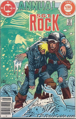 sgt rock annual 4 cpv canadian price variant image