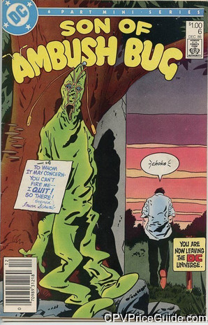 son of ambush bug 6 cpv canadian price variant image