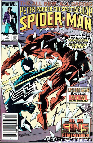 spectacular spider man 110 cpv canadian price variant image