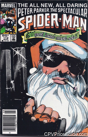 spectacular spider man 112 cpv canadian price variant image