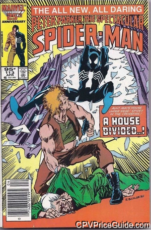 spectacular spider man 113 cpv canadian price variant image