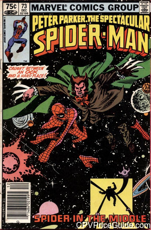 spectacular spider man 73 cpv canadian price variant image