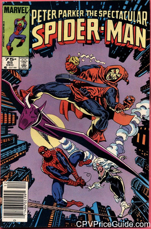 spectacular spider man 85 cpv canadian price variant image
