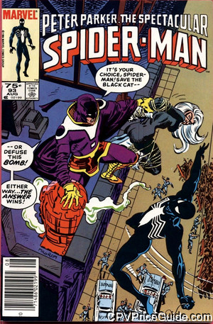 Spectacular Spider-Man #93 75¢ Canadian Price Variant Comic Book Picture