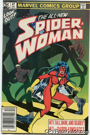 spider woman 47 cpv canadian price variant image
