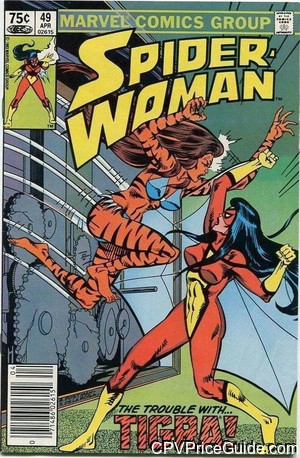 spider woman 49 cpv canadian price variant image