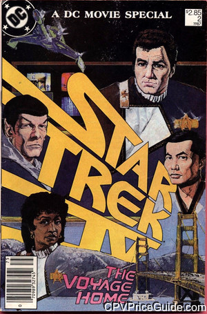 Star Trek Movie Special #2 $2.85 Canadian Price Variant Comic Book Picture