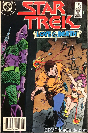Star Trek #38 $1.00 Canadian Price Variant Comic Book Picture