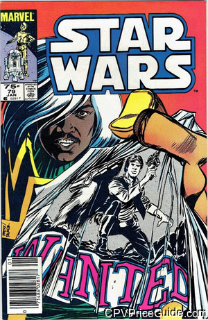 Star Wars #79 75¢ Canadian Price Variant Comic Book Picture