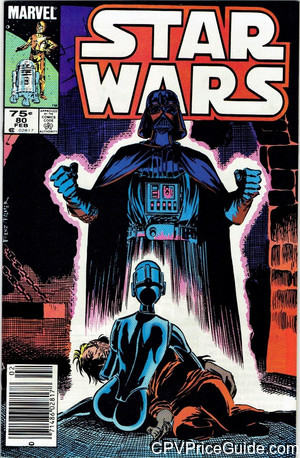 Star Wars #80 75¢ Canadian Price Variant Comic Book Picture