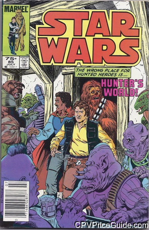 Star Wars #85 75¢ Canadian Price Variant Comic Book Picture