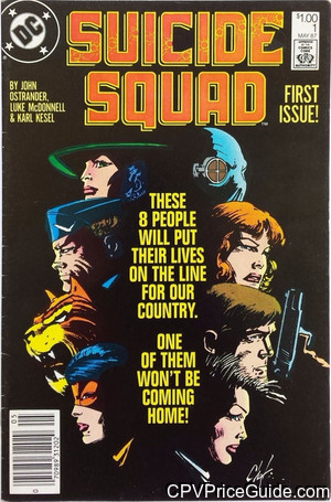 Suicide Squad #1 $1.00 Canadian Price Variant Comic Book Picture