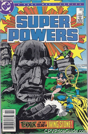 Super Powers Vol 2 #3 95¢ Canadian Price Variant Comic Book Picture