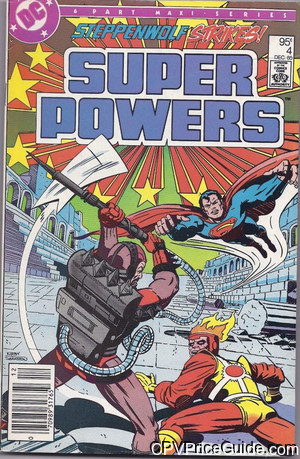 Super Powers Vol 2 #4 95¢ Canadian Price Variant Comic Book Picture