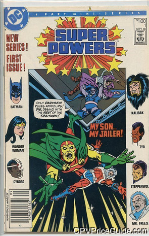 Super Powers Vol 3 #1 $1.00 Canadian Price Variant Comic Book Picture