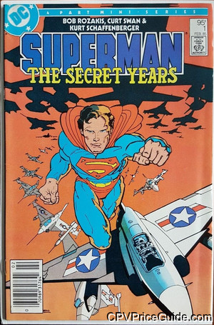 superman the secret years 1 cpv canadian price variant image